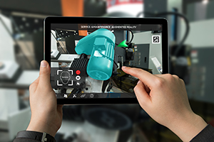 Industrial augmented reality for service