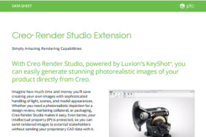 Creo Render Studio extension datasheet