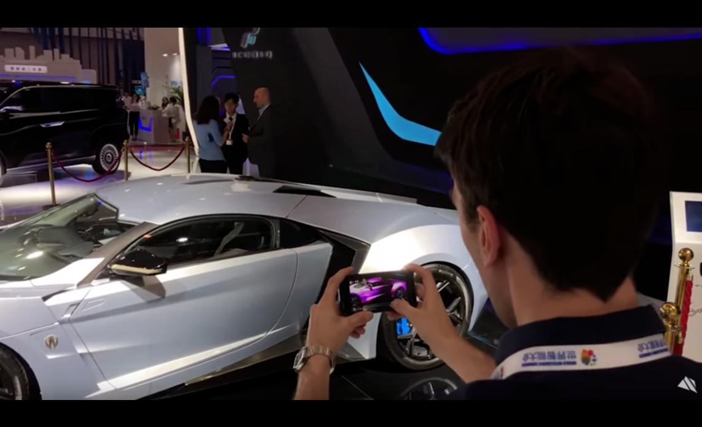 Модель автомобиля Lykan, визуализация