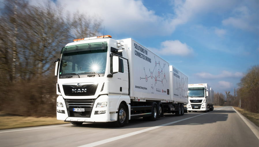 MAN Truck & Bus implementiert ThingWorx Navigate