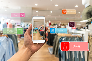 Augmented reality retail software