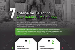 Checklist: Selecting a Retail PLM Solution