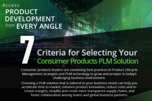 selecting consumer products plm solution