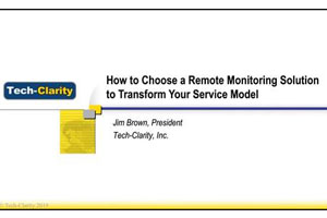 How to Select a Remote Monitoring Solution to Transform Your Service Model