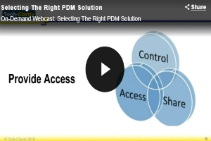 Choosing the right PDM PLM solution