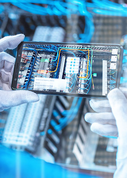 smart phone manufacturing plant data review