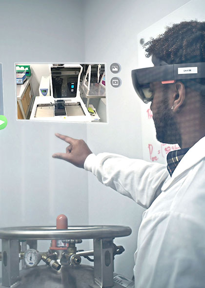 augmented reality expert capture upskilling manufacturing employee