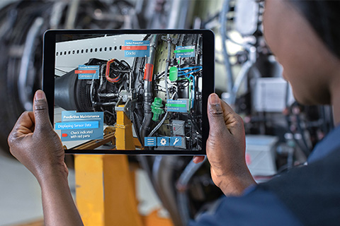 Reduce scrap and rework with AR eBook
