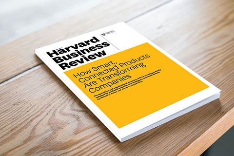 Harvard Business Review articles on Smart, Connected Products and Industry 4.0