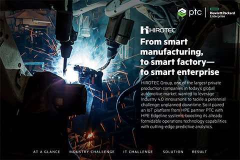 HIROTEC smart manufacturing at the Edge