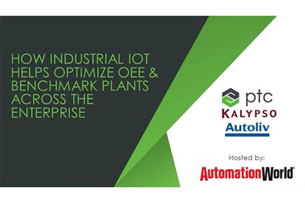 How Industrial IoT Helps Optimize OEE & Benchmark Plants Across the Enterprise
