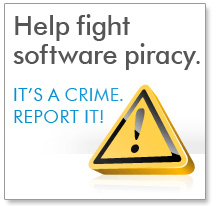 Reporting Suspected Piracy of PTC Software