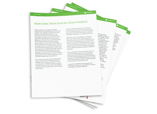 White Paper: More Data, More Source, More Problems